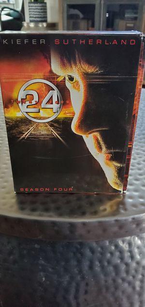 24 Season Four DVD set for Sale in Redlands, CA