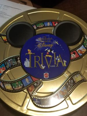 Disney trivia game for Sale in Wendell, NC