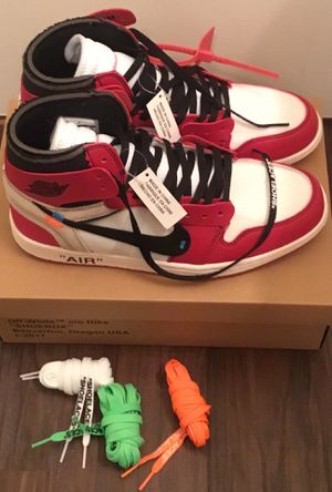 Off-White x Nike Air Jordan 1 Chicago Retro OG High AA3834-101 Brand New for Sale in Atlanta, GA