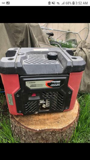 PORTABLE GENERATOR WORKS GREAT $400 for Sale in Anchorage, AK