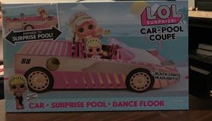L.O.L. Surprise! Car-Pool Coupe with Exclusive Doll, Surprise Pool & Dance Floor for Sale in Stone Mountain, GA