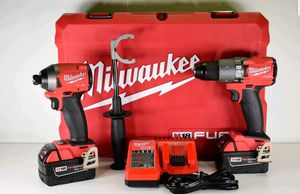 Milwaukee fuel drill set M18 for Sale in Arlington, VA