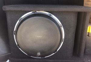 Jl audio w6 subwoofer 12 with ported box for Sale in Phoenix, AZ