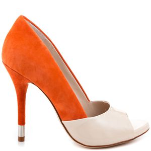 Beige N Orange Heel Pumps for Sale in Richardson, TX