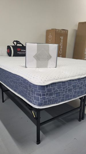 Brand New Hybrid Mattress With Edge Zoning Coils and CertiPUR-US Foam With No Harmful Chemicals- Twin Full Queen King and Cali King Bed In A Box 📦 for Sale in San Diego, CA
