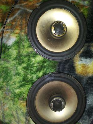 """Polk audio 6.5"""" door speakers for Sale in Modesto, CA"""
