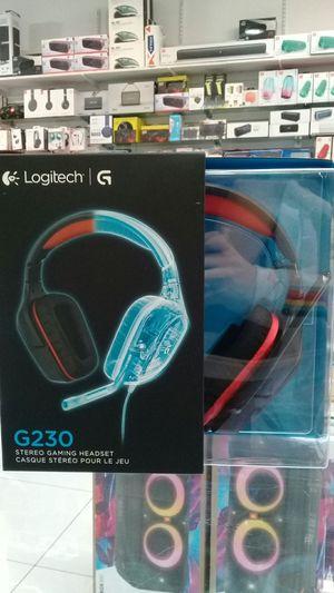 Logitech G230 Stereo Gaming Headset for Sale in Sunrise, FL