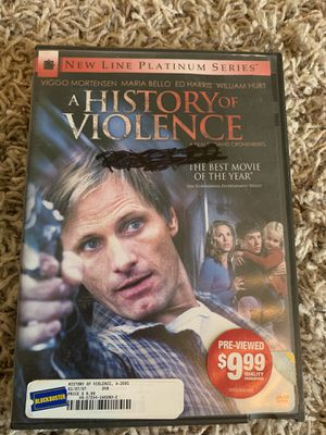A history of violence on DVD for Sale in Hanford, CA
