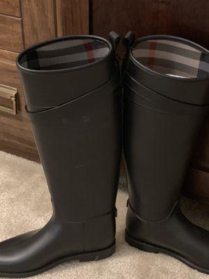Rain boots Burberry genuine for Sale in Alexandria, VA