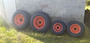 Set of Kubota turf tires, In great shape for Sale in Orangeburg, SC