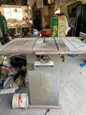 Old table saw for Sale in Sun Lakes, AZ