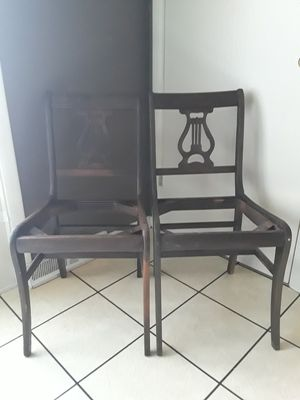 2 Antique Chairs for Sale in Homewood, IL