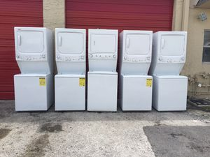 Stackable washer & dryer GE,KENMORE AS IS for Sale in Margate, FL