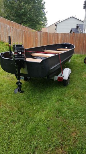 14' Aluminum boat for sale for Sale in Marysville, WA