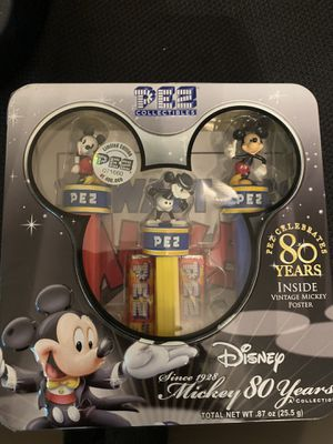 80th anniversary Disney Pez collectors edition for Sale in New Port Richey, FL