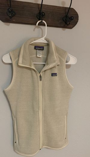 White Patagonia Vest Size Small Women's for Sale in Westminster, CO