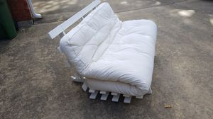 Pottery Barn Teen Futon w/ Frame and Blue Slipcover for Sale in Fort Worth, TX