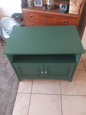 Green tv stand for Sale in Fullerton, CA