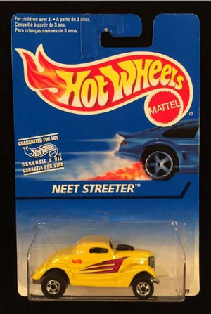 Hot Wheels Neet Streeter 1996 Collector #526 Yellow w/BW 5 Spoke INDIA Base for Sale in Fort Worth, TX