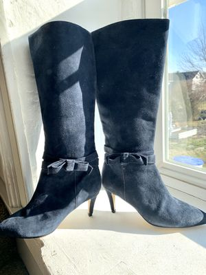NWOB!! Kate Spade Tall Suede Boots for Sale in Purcellville, VA
