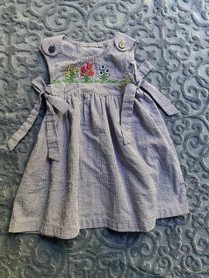 Vintage checker embroidered dress 16 - 30 months for Sale in Aptos, CA