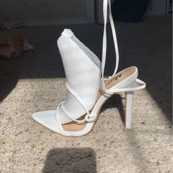 White Heels Size 5.5 for Sale in Caldwell,  ID