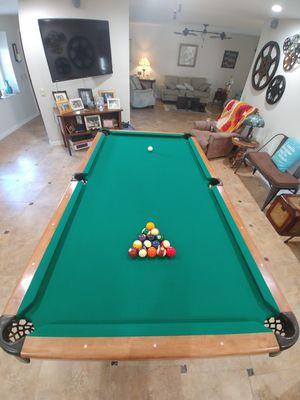 Custom built Slate Pool Table 4*8 for Sale in Sun City, AZ