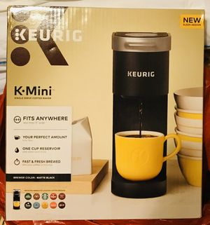 Keurig K-Mini Matte Black / NEW in Box / Pick-up in Cedar Hill / Shipping Available for Sale in Cedar Hill, TX