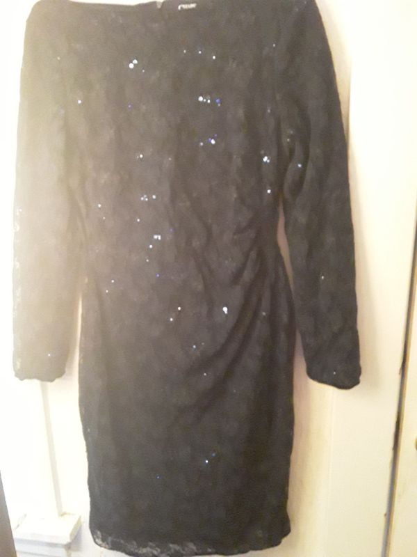 New sz 12 navy lace dress