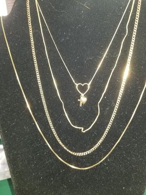 14k 18k GOLD chains for Sale in Colorado Springs, CO