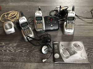 Uniden Wireless Phone and Answering Machine for Sale in Brooklyn, NY
