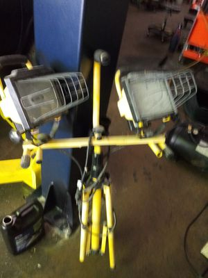 Lights for work...good condition for Sale in Asheboro, NC