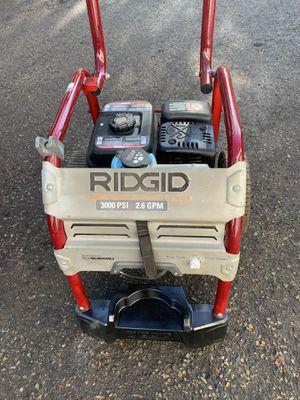 Ridgid 3000 PSI 2.6 GPM Pressure Washer Gas Powered No trae la manguera for Sale in Escondido, CA