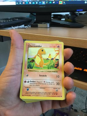 Shadowless Charmander 1999 Base Set Edition for Sale in Silver Spring, MD