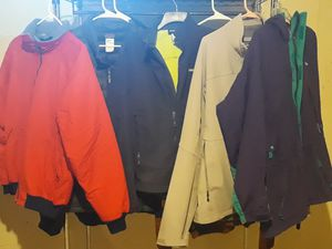 EUC NM Patagonia Outdoor Insulated Coat Jacket Bomber Goose Down Polartec Colorblock bundle lot set for Sale in Sterling Heights, MI