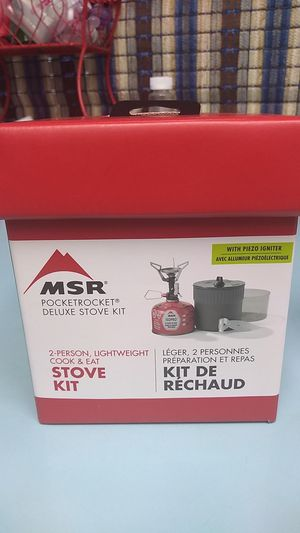 MSR pocket rocket deluxe stove kit for Sale in Portland, OR