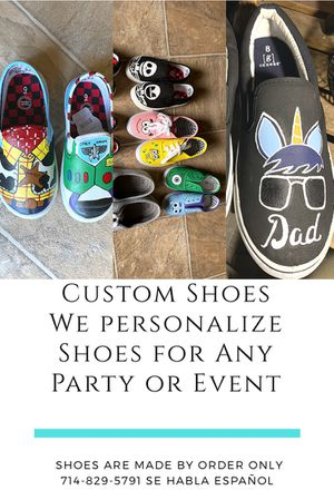 Custom Shoes for Birthday or Event !!! for Sale in Santa Ana, CA