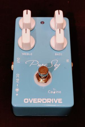 Pure Sky Overdrive Guitar Effects Pedal for Sale in Centreville, VA