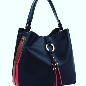 Tassel Ring Stripe Hobo Handbag Purse @ Donna Sacs for Sale in Dearborn, MI