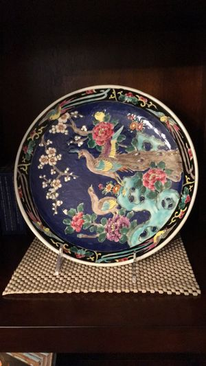 Antique glass plate for Sale in Stony Brook, NY
