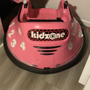Kidzone DIY Number 6V Kids Toy Electric Ride On Bumper Car Vehicle Remote Control 360 Spin for Sale in Tempe, AZ