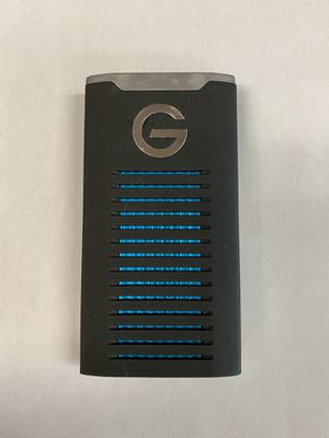 G-Tech G-Drive Mobile SSD 500GB USB-C for Sale in Bakersfield, CA