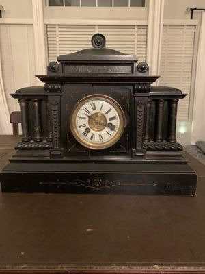 Antique H.A.C. 14-Day Strike Mantle Clock for Sale in Temecula, CA