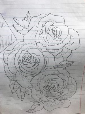 Tattoo roses for sleeve or shoulder design for Sale in Columbia, SC