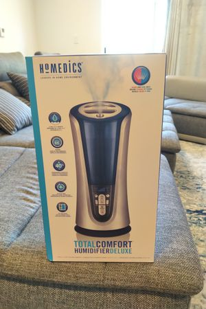 Homedics humidifier deluxe 1.5 gal 5.7 l capacity steam mist air for Sale in West Hollywood, CA