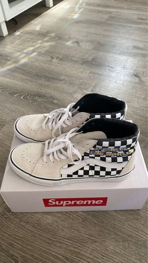 Supreme Vans SK8 hi for Sale in Los Angeles, CA