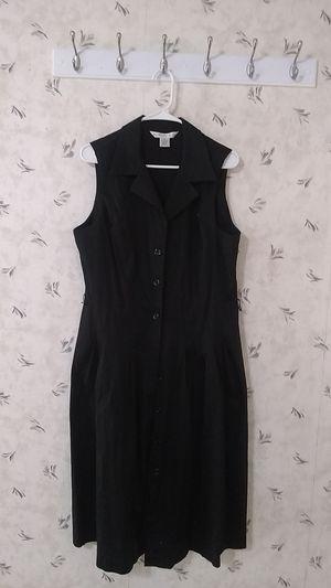 """Black cotton """"Vest"""" dress size 16 for Sale in Newton, KS"""