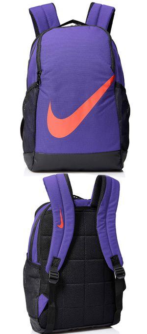 Brand NEW! Nike Brasilia purple Backpack work travel gym school book bag for Sale in Carson, CA