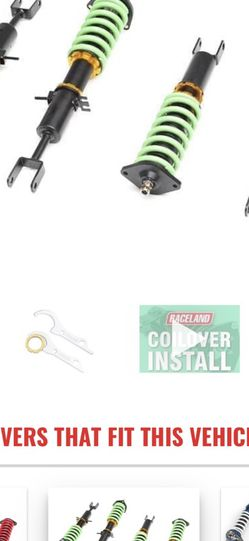 Raceland Coil overs for Sale in Roy,  WA