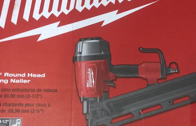 """Milwaukee 3-1/2"""" Round Head Framing Nailer (Brand New) for Sale in The Bronx,  NY"""